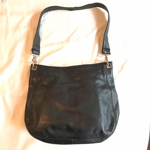fc091fd225a7f Bottega Veneta Bags   Black Leather Shoulder Bag   Poshmark